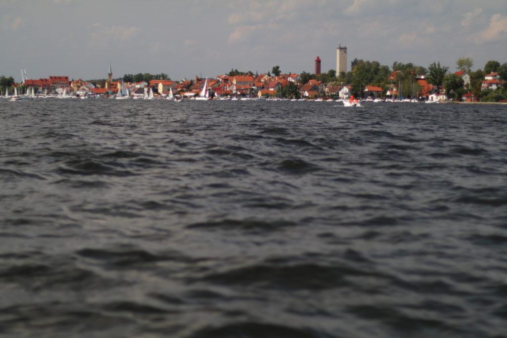 Na jeziorze Mikołajskim zawsze się dużo dzieje