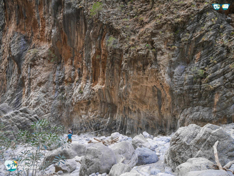 Ściana wąwozu Samaria