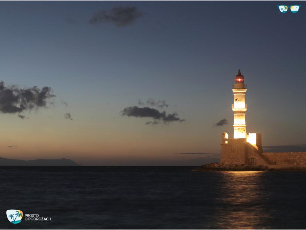 Latarnia morska w Chanii