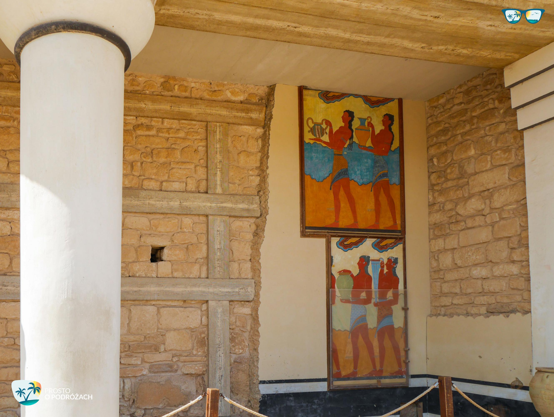 Freski w Knossos
