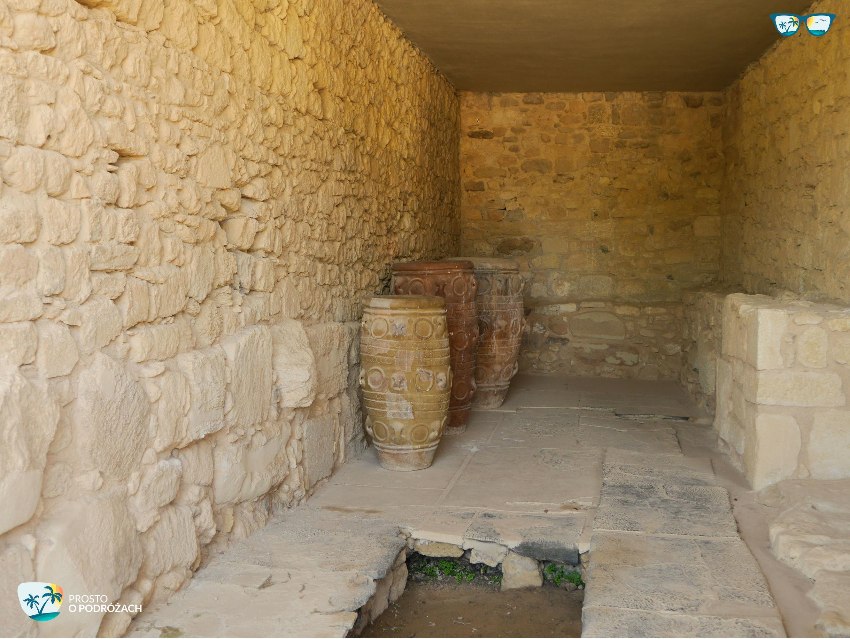 Pitosy na ziarno i oliwę w Knossos