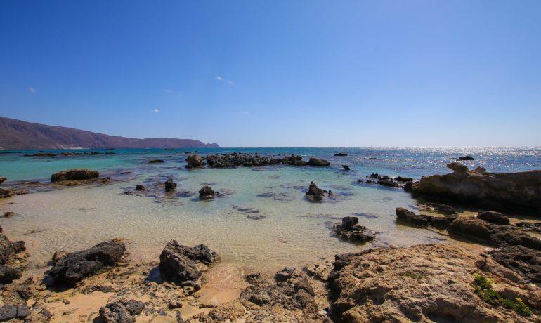 Wyspa Elafonisi na Krecie