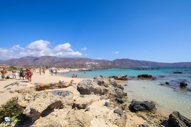 Plaża na wyspie Elafonisi