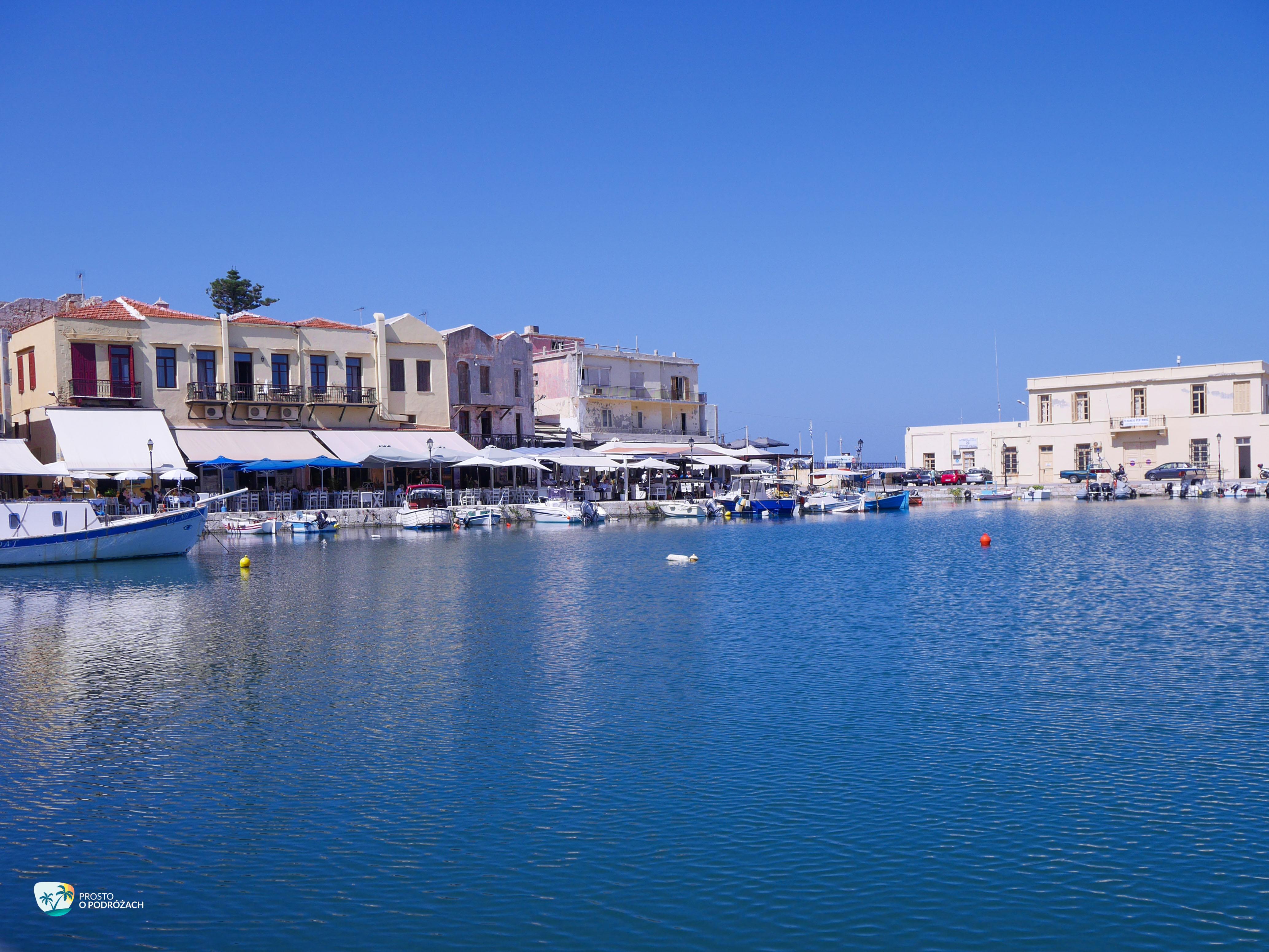 Restauracje w Porcie Weneckim w Rethymnonie