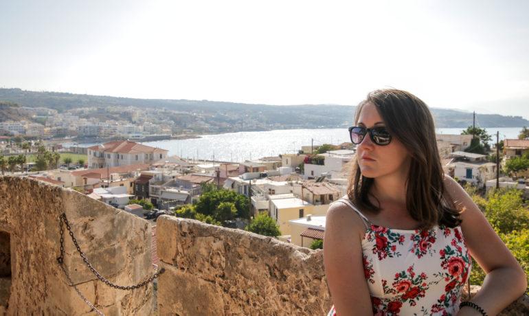 Rethymnon panorama miasta ze słynnej Fortezzy