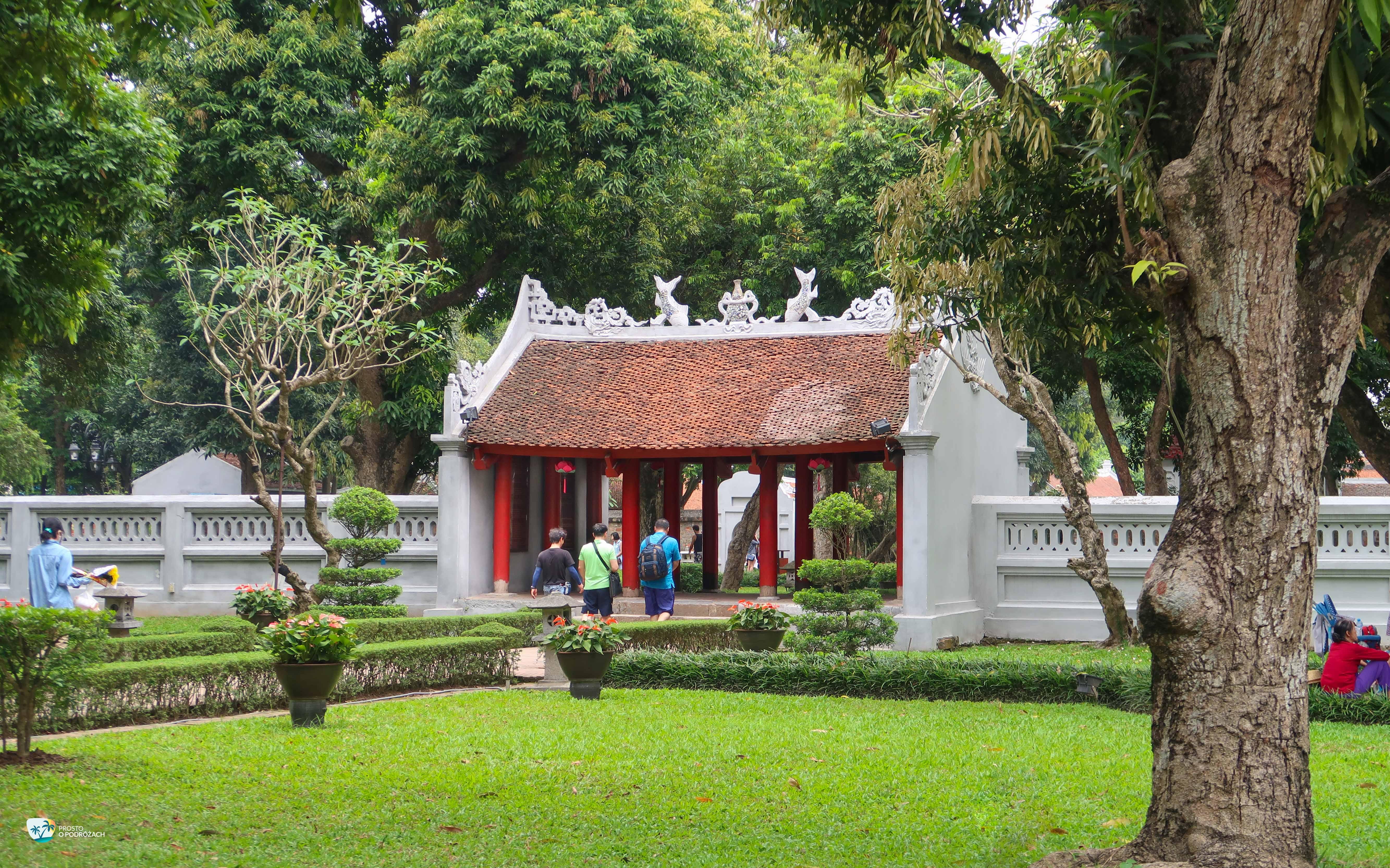 Świątyniq Literatury w Hanoi