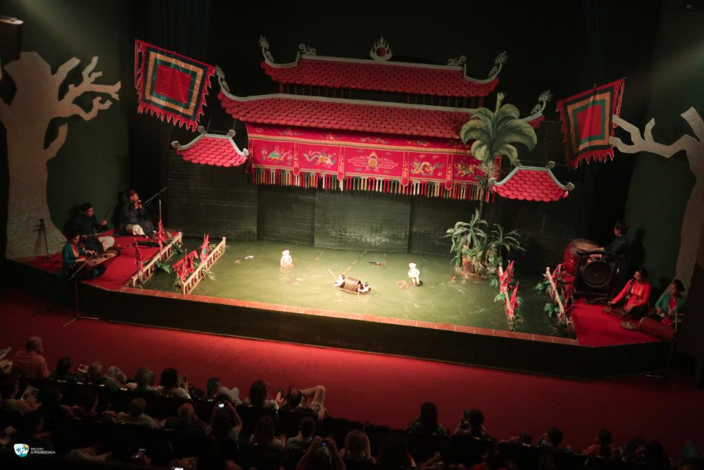 Wodny teatr lalek