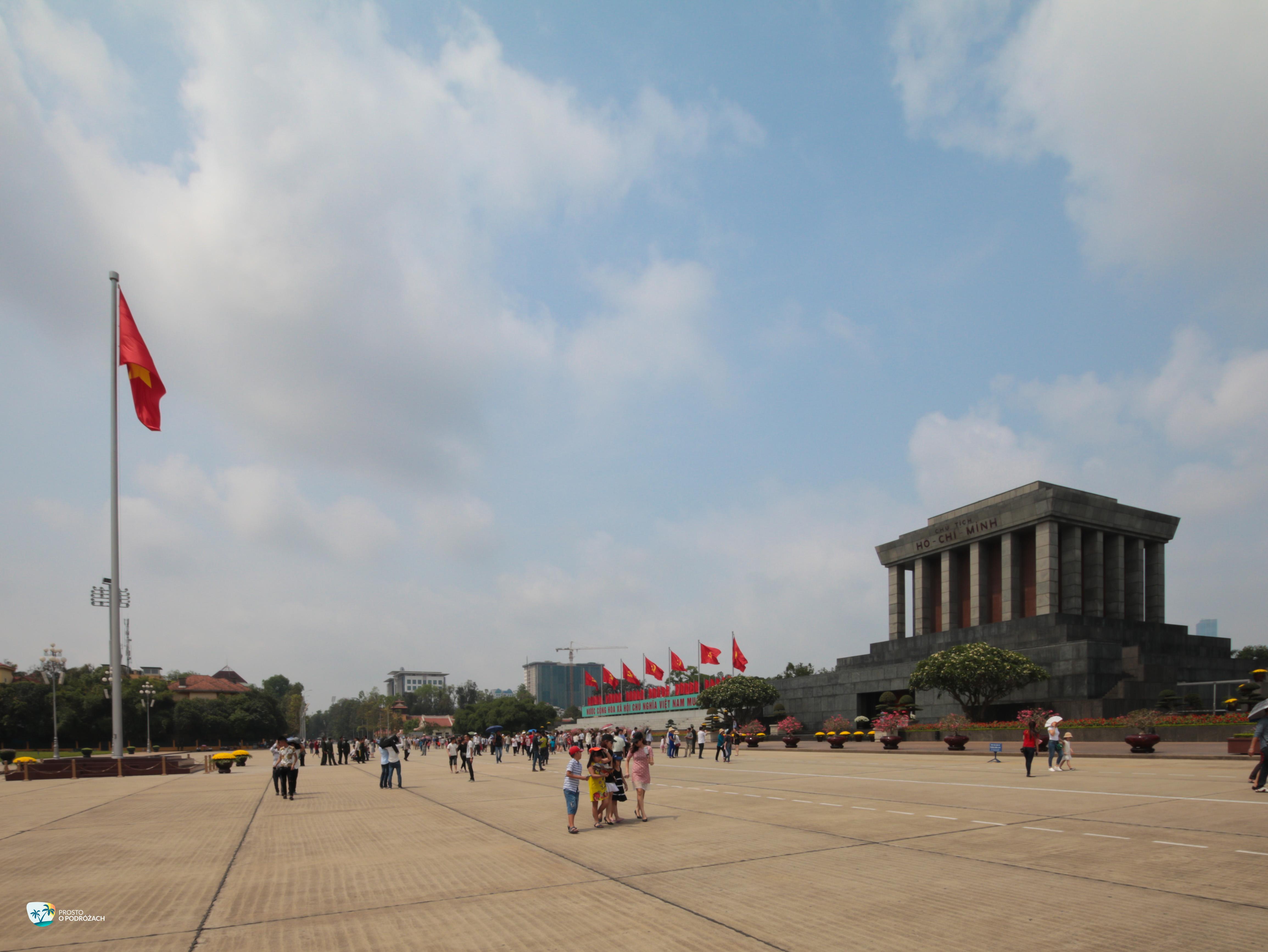 Plac przy mauzoleum Ho Chi Minha
