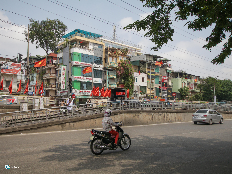 Ulice w Hanoi