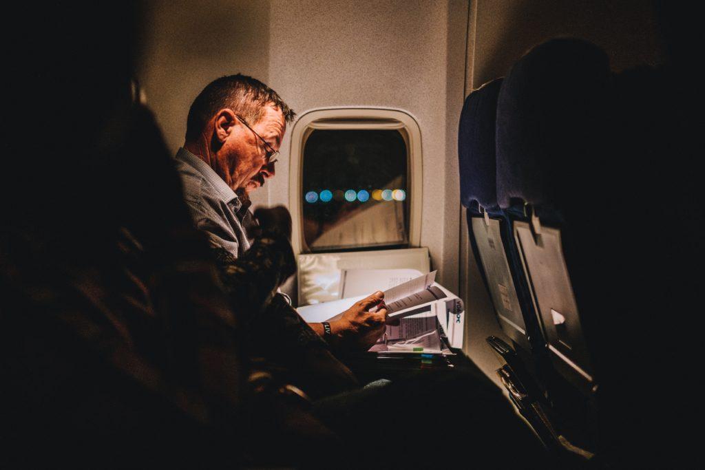 W trakcie lotu można nadrobić czytelnicze zaległości