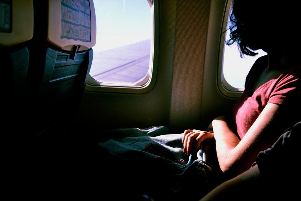 Ubranie w trakcie lotu