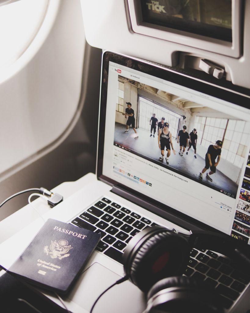 Film w trakcie lotu