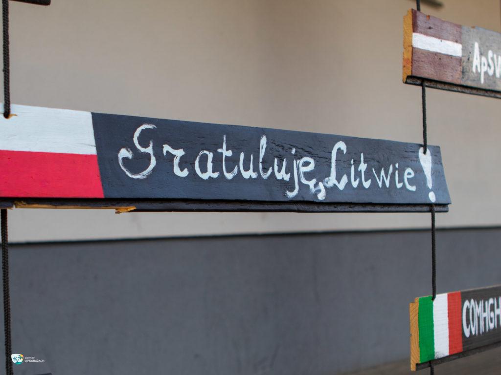 Gratuluję Litwie!
