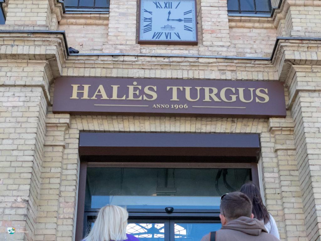 Wejście do hali targowej Hales Turgus