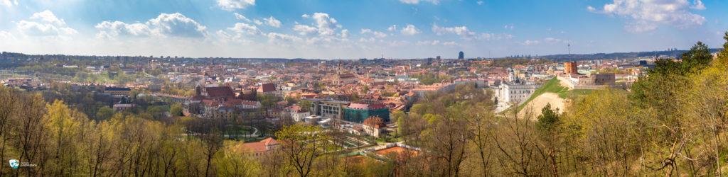 Panorama Wilna z Góry Trzykrzyskiej (kliknij aby powiększyć!)