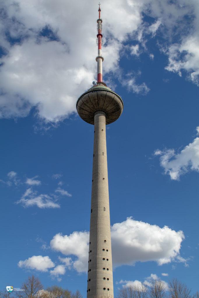 Wilno wieża telewizyjna