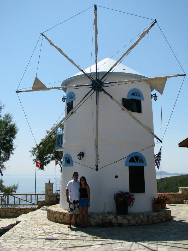 Wiatrak Skinari Zakynthos
