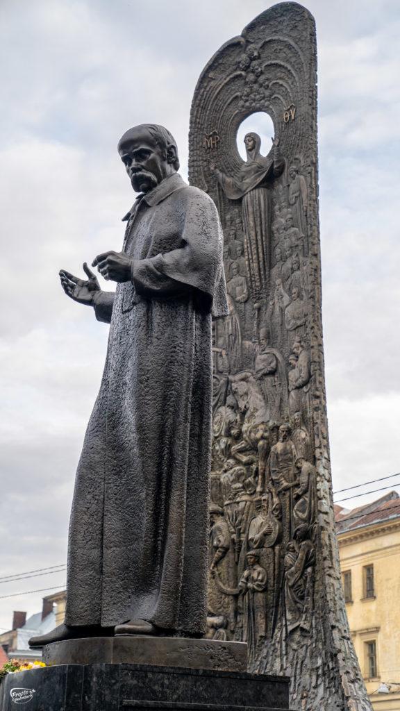 Pomnik pisarza Tarasa Szewczenki
