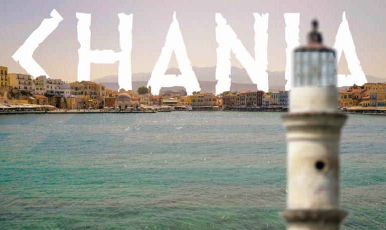 Kreta Chania - wideo blog o podróżach