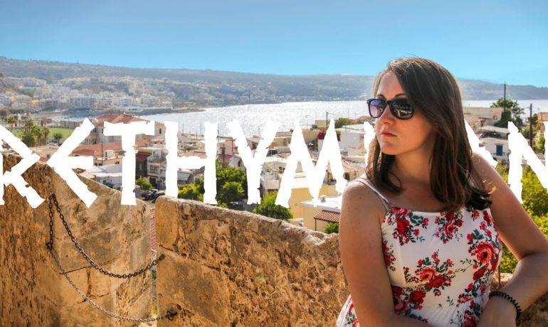 Rethymnon - wideo blog o podróżach