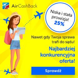 AirCashBack - uzyskaj odszkodowanie za opóźniony lub odwołany lot