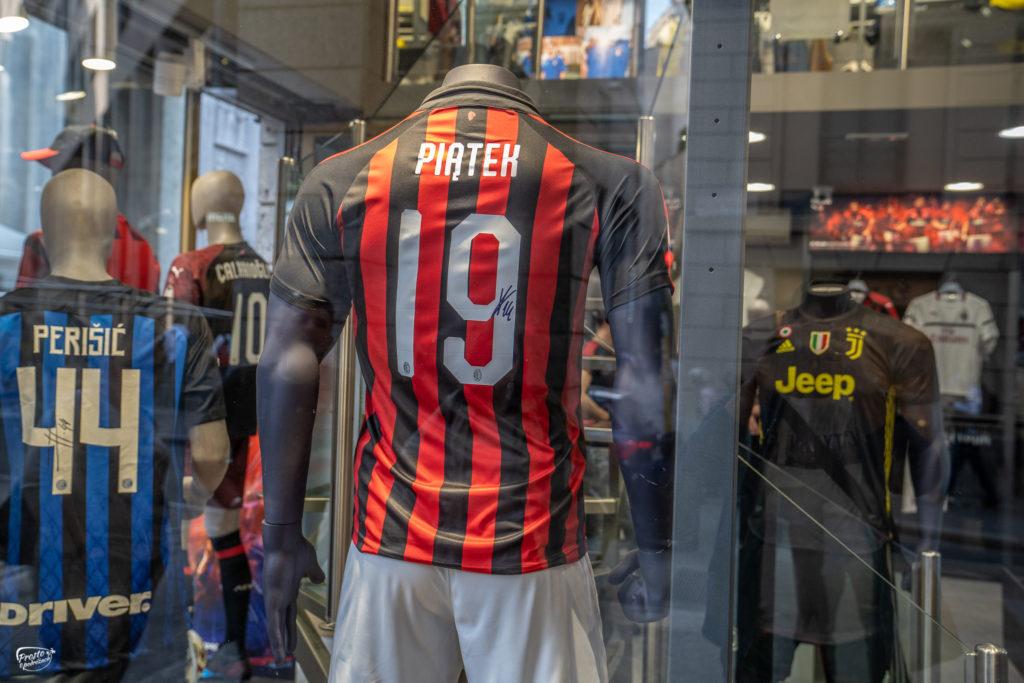Krzysztof Piątek koszulka Milanu