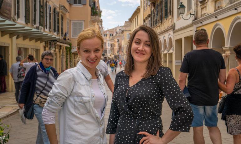 Dorota Kamińska i Sylwia Jaworska. Autorki blogów o podróżach.